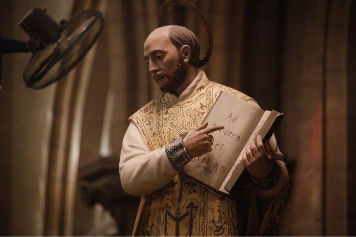 Statue of Ignatius of Loyola