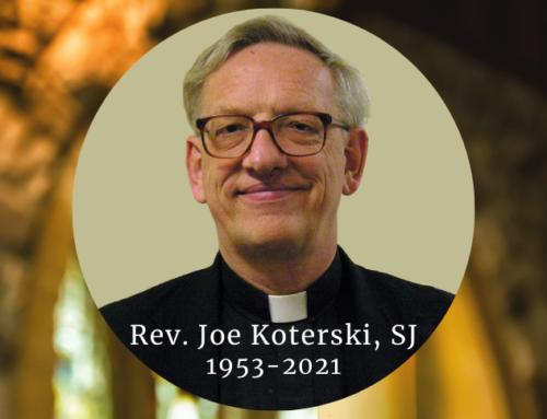 In Memoriam: +Fr. Joseph Koterski, SJ
